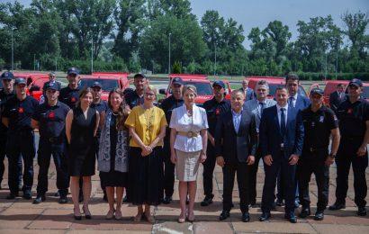 歐盟提供27輛森林消防車