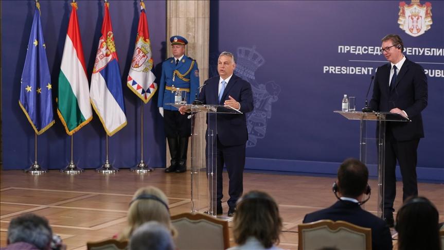 匈牙利總理:沒有塞爾維亞,就沒有巴爾乾地區融入歐盟